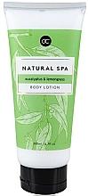 Парфюмерия и Козметика Мляко за тяло - Accentra Natural Spa Eucalyptus & Lemongrass Body Lotion