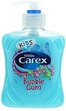 Парфюмерия и Козметика Течен антибактериален сапун - Carex Bubble Gum Hand Wash