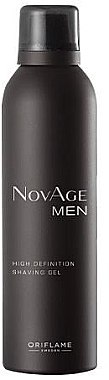 Гел за бръснене - Oriflame NovAge Men High Definition Shaving — снимка N1
