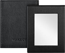 Парфюмерия и Козметика Сгъваемо козметично огледало, черно - MakeUp Pocket Mirror Black