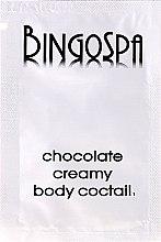 """Парфюми, Парфюмерия, козметика Балсам за тяло """"Шоколад"""" (мостра) - BingoSpa Chocolate Creamy Body Coctail"""