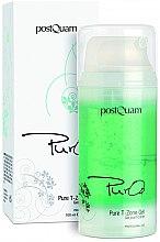 Парфюмерия и Козметика Почистващ гел за лице - PostQuam Pure O2 T Zone Gel