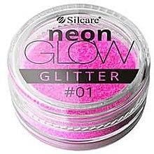 Парфюмерия и Козметика Брокат за нокти - Silcare Brokat Neon Glow