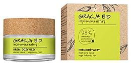 Парфюмерия и Козметика Подхранващ крем за лице с екстракт от овес - Gracja Bio Nourishing Face Cream