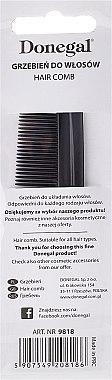 Гребен за коса 9818, 12,3 см - Donegal — снимка N3