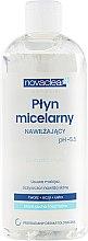 Парфюмерия и Козметика Мицеларна вода за суха и нормална кожа - Novaclear Moisturizing Micellar Water