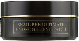 Парфюмерия и Козметика Хидрогел пачове за очи със секрет от охлюв и пчелна отрова - Benton Snail Bee Ultimate Hydrogel Eye Patch