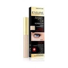 Парфюмерия и Козметика Коректор за очи с арганово масло 8в1 - Eveline Cosmetics Argan Oil