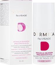 Парфюмерия и Козметика Хидратиращ гел-крем за околоочния контур 30-40+ - Dermika Re.Visage