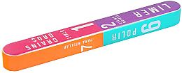 Парфюми, Парфюмерия, козметика 7-степенна полираща пила за нокти 178x22x16mm - Tools For Beauty 7-way Nail Buffer Block
