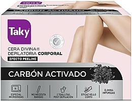 Парфюмерия и Козметика Кола маска за тяло с активен въглен - Taky Activated Carbon Body Depilatory Wax