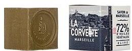 Парфюми, Парфюмерия, козметика Сапун с маслина в кутия - La Corvette Savon de Marseille Olive