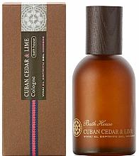 Парфюмерия и Козметика Bath House Cuban Cedar & Lime - Одеколони