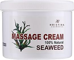 Парфюмерия и Козметика Масажен крем с водорасли - Hristina Cosmetics Seaweed Massage Cream