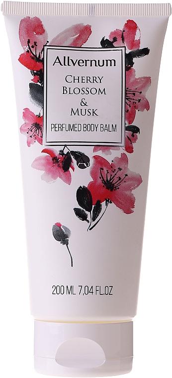 Парфюмен балсам за тяло - Allverne Cherry Bloosom & Musk