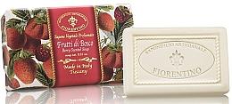 "Парфюмерия и Козметика Натурален сапун ""Горски плодове"" - Saponificio Artigianale Fiorentino Berry Scented Soap"