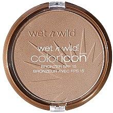 Парфюмерия и Козметика Компактна бронзираща пудра за лице - Wet N Wild Color Icon Bronzer SPF15