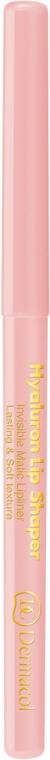 Контуриращ прозрачен молив за устни - Dermacol Hyaluron Lip Shaper