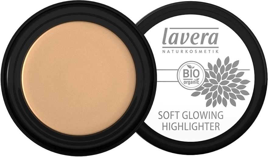 Крем хайлайтър за лице - Lavera Soft Glowing Cream Highlighter — снимка N1