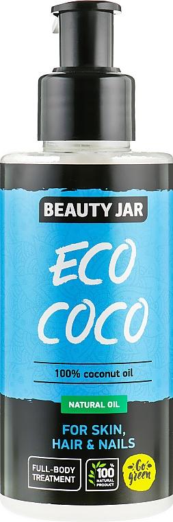 Натурално масло за тяло с кокос - Beauty Jar Eco Coco — снимка N1