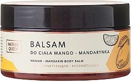 "Парфюми, Парфюмерия, козметика Балсам за тяло ""Манго и мандарина"" - Nature Queen Body Balm"
