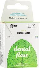 """Парфюмерия и Козметика Конец за зъби """"Свежа мента"""" - The Humble Co. Dental Floss Fresh Mint"""