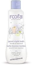 Парфюмерия и Козметика Детски нощен гел за вана - Roofa Good Night Bath Gel