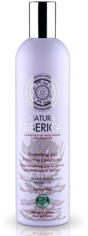 """Балсам за суха коса """"Защита и подхранване"""" - Natura Siberica — снимка N1"""
