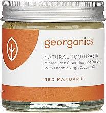 Парфюми, Парфюмерия, козметика Детска натурална паста за зъби - Georganics Red Mandarin Natural Toothpaste