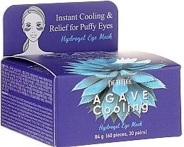 Парфюмерия и Козметика Хидрогелни хидратиращи пачове за очи с екстракт от столетник - Petitfee&Koelf Agave Cooling Hydrogel Eye Mask
