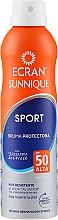 Парфюмерия и Козметика Слънцезащитен спрей - Ecran Sun Lemonoil Sport Spray Invisible SPF50