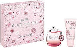 Парфюмерия и Козметика Coach Floral Blush - Комплект (парф. вода/60ml + лосион/100ml)