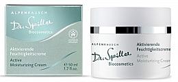 Парфюмерия и Козметика Активен овлажняващ крем за лице - Dr. Spiller Alpenrausch Active Moisturizing Cream