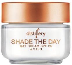 Дневен хидратиращ крем за лице - Avon Distillery Shade The Day Cream SPF 25