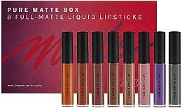 Парфюмерия и Козметика Комплект матови червила за устни - Zoeva Pure Matte Box (lipstick/8x6ml)