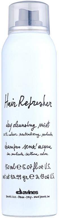 Освежаващ спрей за косата - Davines Hair Refresher Dry Cleansing Mist — снимка N1