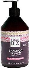 Парфюмерия и Козметика Шампоан за коса - Renee Blanche Natur Green Bio Illuminante Shampoo