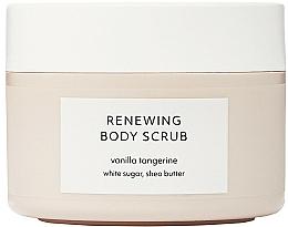 Парфюмерия и Козметика Скраб за тяло - Estelle & Thild Vanilla Tangerine Renewing Body Scrub