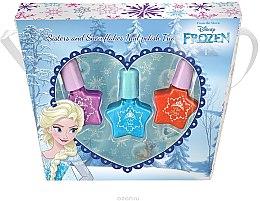 Парфюмерия и Козметика Комплект детска декоративна козметика - Markwins Frozen Sisters & Snowflake Asst