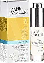 Парфюмерия и Козметика Бустер за лице - Anne Moller Blockage Multi-Protection Booster SPF50+