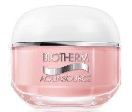 Парфюми, Парфюмерия, козметика Хидратиращ крем за суха кожа на лицето - Biotherm Aquasource Non Stop 50ml
