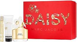Парфюмерия и Козметика Marc Jacobs Daisy - Комплект (тоал. вода/100ml + тоал. вода/10ml + лосион за тяло/75ml)
