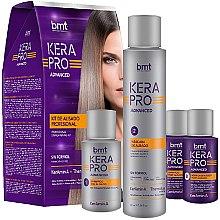 Парфюмерия и Козметика Комплект за коса - Kativa Kera Pro Advanced (шампоан/30ml + маска/100ml +шампоан/30 ml + лосион/30ml)