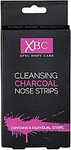 Парфюмерия и Козметика Почистващи лепенки за нос - Xpel Marketing Ltd Body Care Cleansing Charcoal Nose Strips