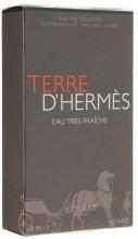 Парфюми, Парфюмерия, козметика Hermes Terre d'Hermes Eau Tres Fraiche - Тоалетна вода (тестер с капачка)