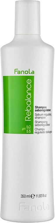 Шампоан за мазна коса - Fanola Rebalance Anti-Grease Shampoo