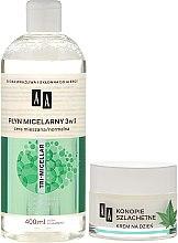 Комплект за лице - AA Cosmetics Moc Energy (мицел. вода/400ml + крем за лице/50ml) — снимка N2
