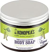Парфюмерия и Козметика Почистващ сапун за тяло - Dr. Konopka's Deep Cleansing Thick Body Soap