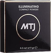 Парфюмерия и Козметика Изсветляваща пудра за лице - MTJ Cosmetics Illuminating Compact Powder