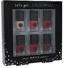 Парфюми, Парфюмерия, козметика Комплект лакове - Cosmetic 2K Lets Get Colourful! (nail/laquer/6х5ml)